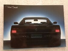 Ferrari Testarossa 512M  Postcard 1st On eBay Car Postcard Own It!