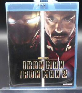 """Stan Lee´s """"Iron Man 1 und 2 """"Marvel-Blu Ray-aus Sammlung,Collector´s Edition"""