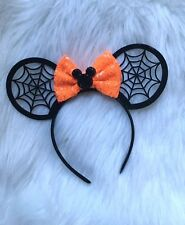 Disney Halloween Minnie Mouse Ears headband-costume-Disneyland-Disney World