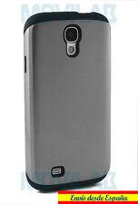 Funda/Carcasa Samsung Galaxy S4 I9505 - I9500 antigolpes slim armor Spigen plata