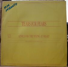 "TEARS FOR FEARS 1990 Advice For The Young At Heart PROMO 12"" Single LP BRAZIL"