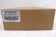 INFO-MOTION INFO-HDBT4K-TX/RX 2K/4K HDBaseT Extender Set NOS IN BOX**
