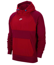 NIKE Winter OTH Hoody Red Mens Size UK S *REF165