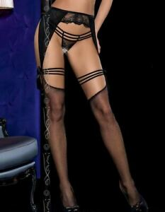 Axami Wish Garter Belt w/Stockings