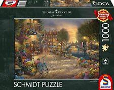 Schmidt Puzzle 59917 1000 Teile - Thomas KInkade - Amsterdam