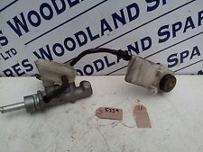 PEUGEOT 307 CC BRAKE MASTER CYLINDER AND RESERVOIR  2004 1997cc