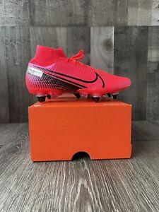 Nike Mercurial Superfly 7 Elite SG Pro AC Crimson Soccer Cleat Sz 6 Mens 7.5 Wms