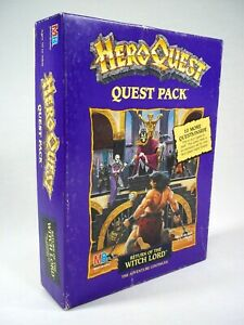 HeroQuest Return of the Witch Lord Quest Pack EMPTY BOX ONLY Milton Bradley 1991