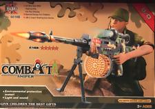 Toy Combat Sniper Battery Operated  Toy Kids 6018B Super Shaking Machine Gun  3+