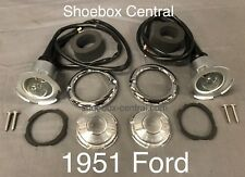 1951 Ford Passenger Car Shoebox Complete Parking Light Kit