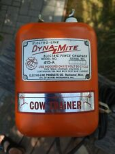 Vintage Electro Line Electric Fence Charger Dyna Mite Model 415 A Read