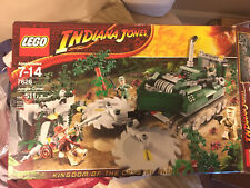 Partial Lego Indiana Jones Jungle Cutter (7626)-Misc parts Only-No Box-Read
