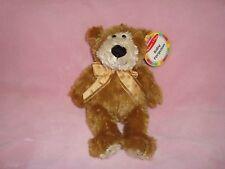 """Melissa & Doug Teddy Bear Baby Ferguson 9"""" Tall W/Tags Plush & Beans"""