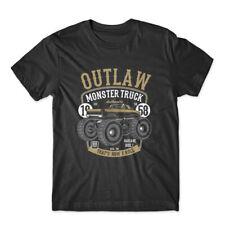 Outlaw Monster Truck T-Shirt 100% Cotton Premium Tee NEW