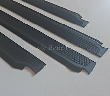 Mercedes W114 W115 Sedan Door Sill Rubber Plate Cover Set 4 Pieces New