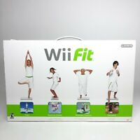 Nintendo Wii Fit Balance Board New in Box Factory Sealed Includes Wii Fit Game