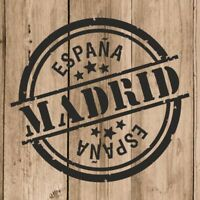 Vinilo de Corte Madrid Pegatina Madrid España 10 cm Adhesivo Pared Tablet Coche