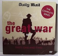 THE GREAT WAR - Parts One and Two BBC DVD
