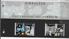 Gibraltar 93-EUROPA. el arte contemporáneo: Máscara, Cámara, cerámica, escultura, Drama, etc.