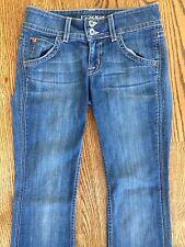 Hudson Womens Signature Bootcut Medium Wash Denim Jeans Sz 25 (27 x 30.5) VGUC