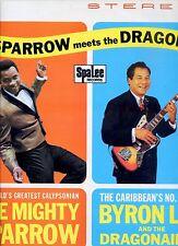 MIGHTY SPARROW & BYRON LEE sparrow meets the dragon HOLLAND EX+  LP