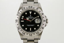Rolex Explorer II 16570 Black Dial Stainless Steel Automatic Watch P Series