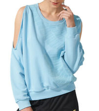Adidas Originals Rita Ora Sweatshirt Top Jumper Pastel Blue Large Dove Design