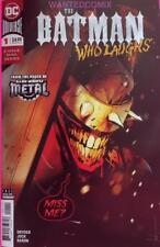 BATMAN WHO LAUGHS 1 (OF 6) JOCK COVER SCOTT SNYDER DEC 2018 NEW DARK METAL COMIC