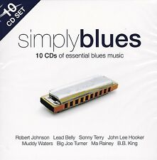 [BRAND NEW] 10CD: SIMPLY BLUES: VARIOUS ARTISTS