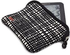 "BUILT Reversible Neoprene Sleeve Case for Kindle & 7"" Tablets City Grid / Black"