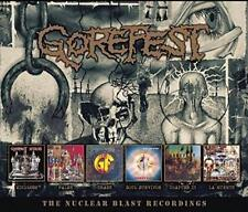 Gorefest - The Nuclear Blast Recordings (6cd)