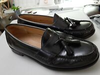 Cole Haan City Loafers Tassel Black Leather Pinch Mens Shoes 3506 Sz 8.5D