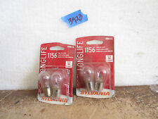 Sylvania 1156 Long Life bulbs up to 100% 1 LOT OF 4 BULBS
