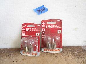 Sylvania 1156 Long Life bulbs up to 100% 1 LOT OF 4 BULBS