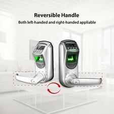 Smart Door Lock Keyless Fingerprint Locks with Visual Menu Display Support
