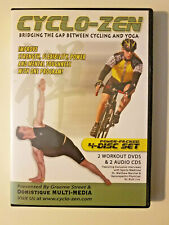 Cyclo-Zen: Bridging The Gap Between Cycling and Yoga (2 Dvd + 2 Cd) (2005)