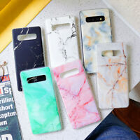 For Samsung A50 A70 M10 S10 S9 S8 Plus Note9 Phone Case Matte Marble Design Soft
