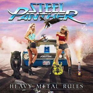 Steel Panther - Heavy Metal Rules - CD - New