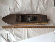 Vintage Jacrim Pond Boat Electric Motor Flying Yankee Keystone Mfg Boston MA