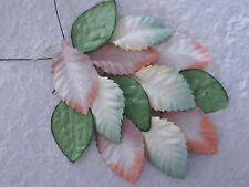 50 Mulberry Paper Leaves 45mm MPL9X Scrapbooking Card Craft Embellishments