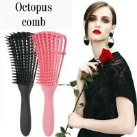 Unisex Scalp Massage Comb Hair Brush Detangle Hairbrush Comb New Anti-tie U2V9