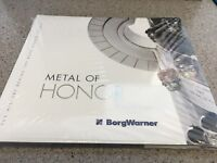 BorgWarner Metal of Honor (Indy 500) (RARE BOOK, NOT SOLD IN STORES)