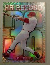 MARK MCGWIRE TOPPS CHROME HOME RUN HR RECORD Refractor #220 #36 1999 99