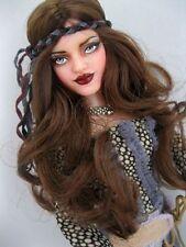 OOAK Repaint Barbie BOHO Beauty & the Beast Belle Art fashion Doll by Ashley