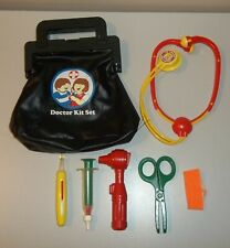 Vintage Playmates Doctor Kit Set with Tools