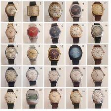 Orologio Watch LUCERNE TIMEX CAMY BITUNIA ROTARY ELCO Vintage Montre Reloj ++++