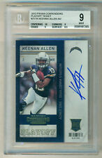 2013 Panini Contenders Rc Playoff Ticket Auto Keenan Allen BGS 9