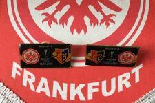 2 Fußball pin badges Eintracht Frankfurt Basel 2019 2020