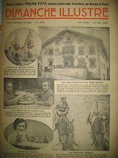 N° 692 REPORTAGES PHOTOS HISTOIRE ROMAN BD BICOT M. POCHE DIMANCHE ILLUSTRE 193