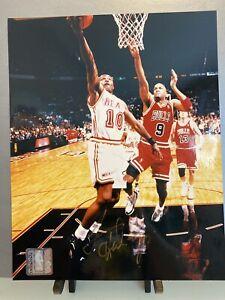 Tim Hardaway Signed Autograph 8x10 Photo Miami Heat Golden State Warriors NBA